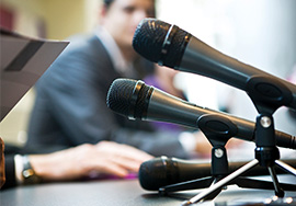Media teleconferencing services