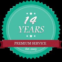 14-years-badge