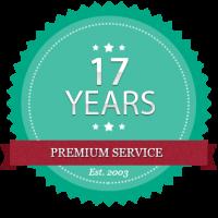 17-years-badge