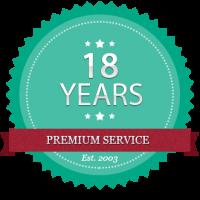 18-years-badge